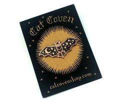Creature of the Night Copper Pin – Cat Coven