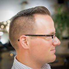 how to cut a pompadour for balding man