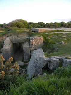 Nazi Bunker Pointe du Hoc, France.