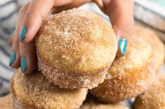 Jump to Recipe Print RecipeCinnamon Sugar Donut Muffins – Donut muffins are a super soft, homemade muffins that are easy to make! These buttery treats taste just like an old fashioned donut rolled in cinnamon and sugar! Yep. I'm that person that will take a donut that's all soft, and buttery, and rolled in cinnamon...Read More »