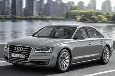 Audi A8L facelift gets minor cosmetic tweaks, most evident in optional Matrix LED headlights.