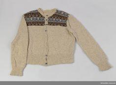 DigitaltMuseum Poncho Sweater, Vintage Knitting, Knitwear, Knitting Patterns, Sweaters, Museum, Fashion, Ponchos, Moda