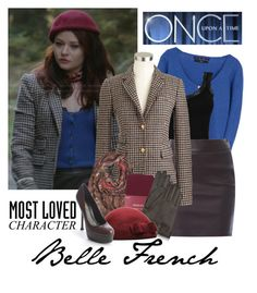 OUaT: Belle French by chrissykp on Polyvore featuring polyvore fashion style Zara J.Crew T By Alexander Wang Phase Eight Merona Yves Saint Laurent Etro Forzieri Once Upon a Time clothing onceuponatime belle BelleFrench MostLovedCharacter tvstylestar