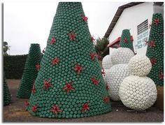 Navidad reciclaje  Reciclajes impresionantes hechos en casa - Taringa!