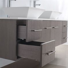 Photo Image Wyndham Collection Amare Acrylic Resin Top inch Double Bathroom Vanity Acrylic Resin Top Integrat by Wyndham Collection Great deals Shopping and