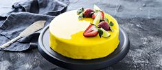 Reseptihaku - K-citymarket Mirror Glaze Cake, Pie Recipes, Birthday Cake, Pudding, Cupcakes, Sweets, Desserts, Food, Cake Ideas