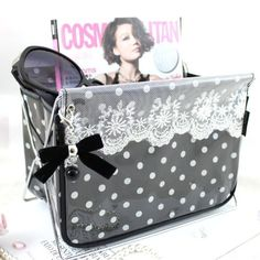 New Adorable Polka Dot Romance Magazine Holder (Large) by Jewelry Holders, http://www.amazon.com/dp/B008F8S2X6/ref=cm_sw_r_pi_dp_2Uusrb0RQ8JX3