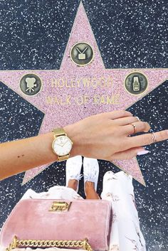 watch for her   topdown   gold details   walk of fame   rose bag   Joy Mesh by Kapten & Son   picture by anajohnson