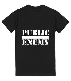 Public Enemy T-Shirt - $28 + shipping. (*look for tank top 1st, or get this in a large)