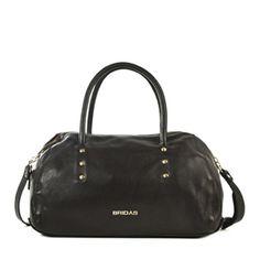 Bowling marrón #bolsodepiel #handbags #Bridas #Clenapal #FW14