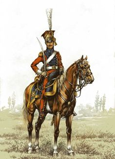 Imperial Guard Dutch (Red) Lancer regiment, Trooper