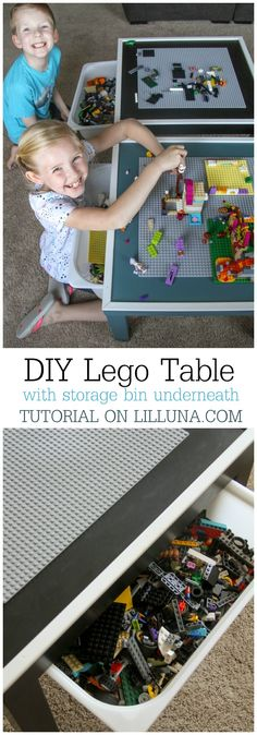 DIY Lego Table with