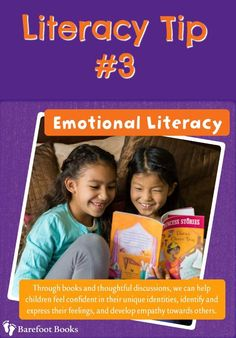 Books are a great way to teach your child how to recognize and deal with BIG emotions.