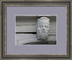 Sculpture Framed Print featuring the photograph Head With Three Faces by Sverre… Framed Prints, Art Prints, The World's Greatest, Great Artists, Lion Sculpture, Photograph, Faces, Tapestry, Statue