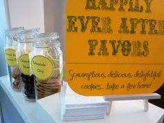Storybook Favor Table