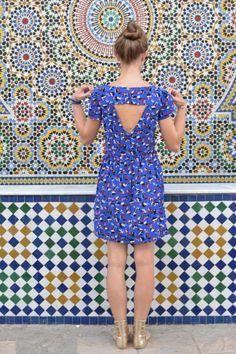 La robe Orla – Orla Dress by French Navy – Sew La Jupe