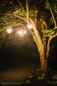 outdoor chandeliers // rebecca arthurs photography