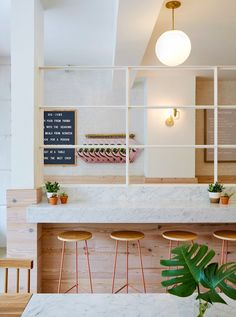 Marble Pink Dig Inn Restaurant [Boston] | Trendland