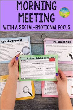 Social Emotional Activities, Counseling Activities, School Counseling, Learning Activities, Learning Skills, Morning Meeting Activities, Morning Meetings, Morning Work, Skills To Learn