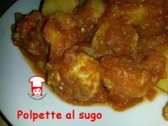 Polpette al sugo con patate: confort food