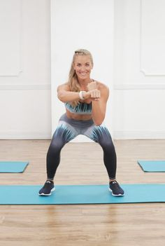 A Kickass Cardio Workout With Weights —Yeah, You're Going to Sweat!