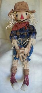 Raggedy Dreams: Here he is completed.....my first (and probably on...