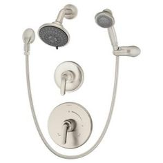 Symmons Elm Satin Nickel Shower System with Hand Spray-5505-STN at The Home Depot $549.00