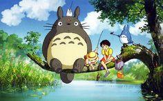 Anime Masterpieces : Hayao Miyazaki and Studio Ghibli Anime Movie Wallpapers - My Neighbor Totoro, 1998 Wallpaper Images 3