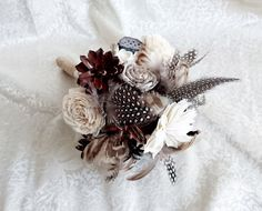 Winter wedding rustic wonderland small bridal by MKedraWedding
