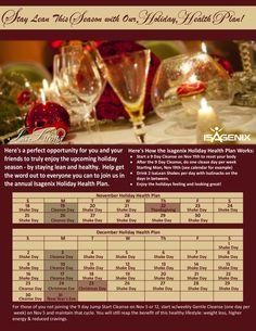 Isagenix Holiday Diet Plan