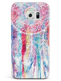 Dreamcatcher Watercolor Spiritual Native American Case for Galaxy S7
