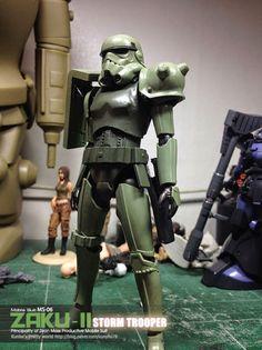 GUNDAM GUY: Bandai Storm Trooper [Ver. Zaku II] - Custom Build