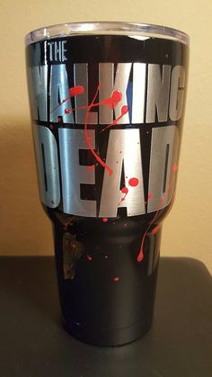 Check out this item in my Etsy shop https://www.etsy.com/listing/483040480/rtic-tumbler-walking-dead-30-oz-painted