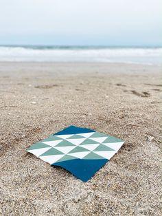 RBD Block Challenge – Week 5 - Ocean Waves Block | Fabric: Riley Blake Designs Confetti Cotton 5 Oceans, Challenge Week, Week 5, Riley Blake, Surfs Up, Ocean Waves, Confetti, Beach Mat, Outdoor Blanket