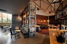 Grosvenor Hotel restaurant and bar by Red Design Group, Melbourne store design Visual Merchandising, Red Design, Design Furniture, Cafe Bar, Commercial Interiors, Office Interiors, Stores, Store Design, Restaurant Bar