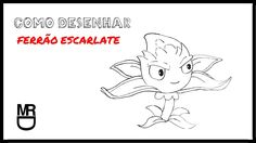 Como desenhar o Ferrao Escarlate (Plants vs Zombies)
