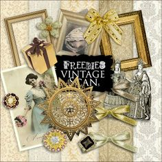 Freebies Vintage Style Kit :Far Far Hill - Free database of digital illustrations and papers Old Paper, Vintage Paper, Vintage Ephemera, Paper Art, Collages, Collage Art, Digital Scrapbooking Freebies, Digital Papers, Far Hills