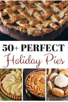 This collection of pies will be the perfect finish to your holiday meals. And really, these homemade pie recipes will make a great dessert any night!