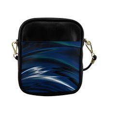 Light In Darkness Fractal Art Sling Bag (Model 1627)