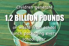 So much waste in just schools!