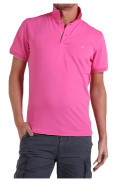 Sun68 - Clothing - Pole - 1310572 (54,00€) #fashion #cool #sun68 #tshirt #pink #summer #collection