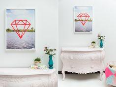 Analog Diamond fluor
