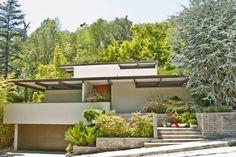 midcentury modern ceiling beams | Mid-Century Modern Post & Beam Home, Studio City - Los Angeles Real ...