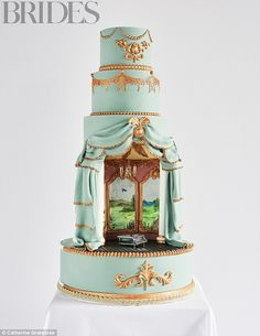 Your Venue In A Cake By Tier By Tier,£1,275 (serves 170), tierbytier.co.uk