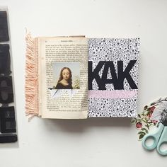 @CayleeGrey  | KAK  | Season of Words  |  Get Messy Art Journal