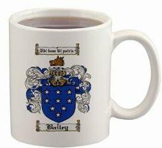 $15.99 Bailey Coat of Arms Mug / Family Crest 11 ounce cup