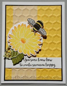 Stampin' Up! Special Reason, Dragonfly Dreams, hexagon EF