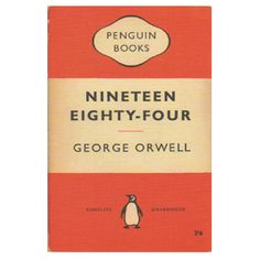 Classic Penguin Book Cover FRIDGE MAGNET Nineteen by StarfishQuay, $4.00