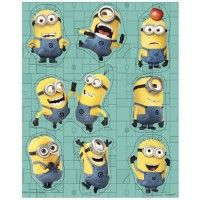 Minion stickers, 4 sheets per pack