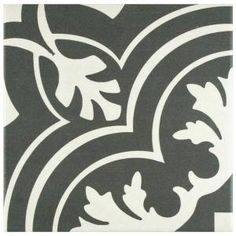 Merola Tile Twenties Classic 7-3/4 in. x 7-3/4 in. Ceramic Floor and Wall Tile FRC8TWCL at The Home Depot - Mobile